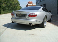 Jaguar XK8 and XKR Stainless Steel Sports Performance Exhaust System