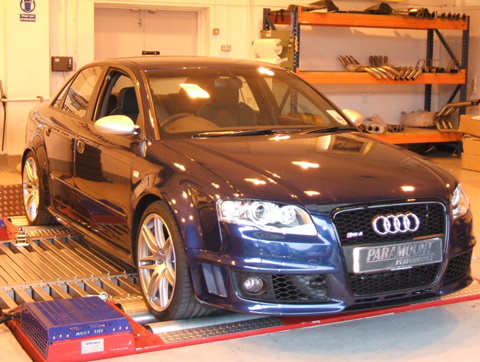 Audi tuning and remapping