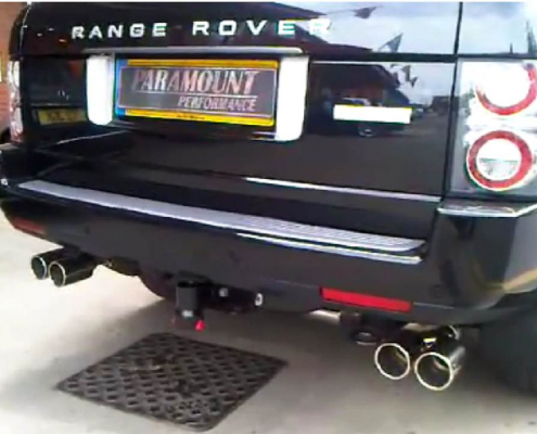 Range rover exhaust, Range Rover Exhaust – RR 5.0 Performance Exhaust System
