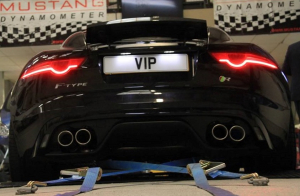 Jaguar F-Type V8 Exhaust System with 200 cell cats