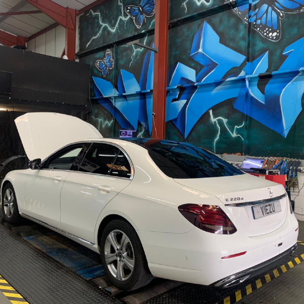 Mercedes e class tuning and remapping